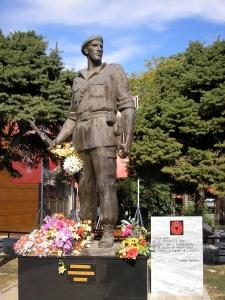 Паметник на Джеват Бериша, Армия за освобождение на Косово